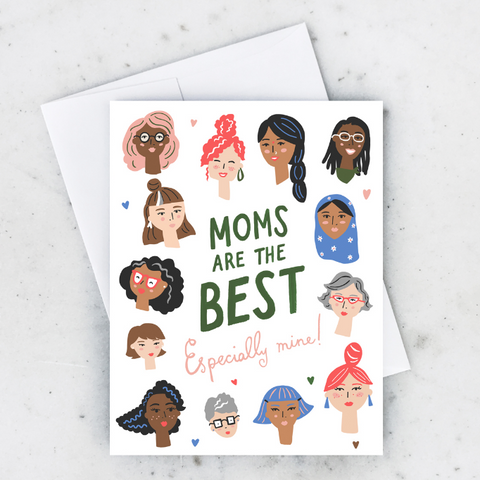 Best Moms Group Card