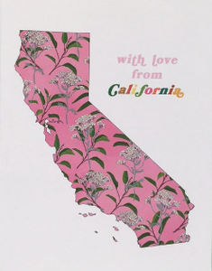 With Love From CA Card
