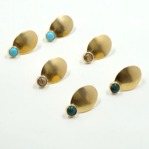 Gold Descent Earrings