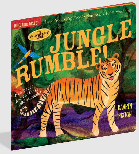 Jungle Rumble Indestructible Book