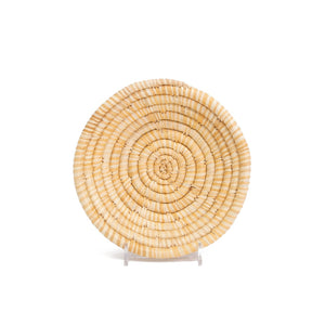 Soft Gold Raffia Small Bowl