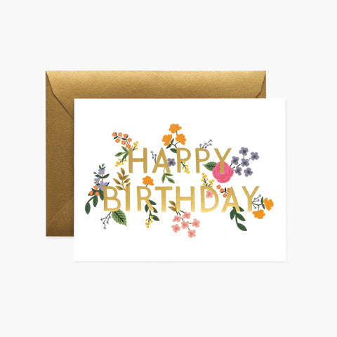 Wildwood Birthday Card