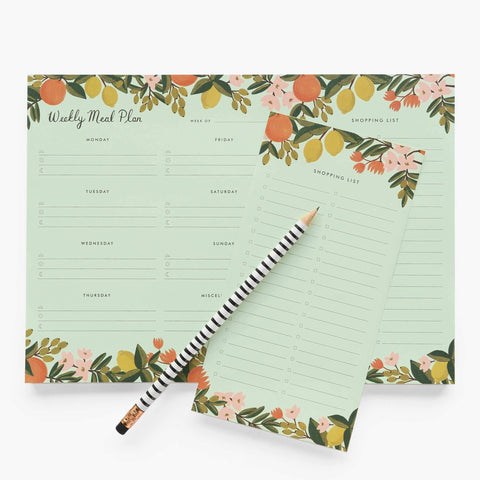 Citrus Meal Plan Deskpad