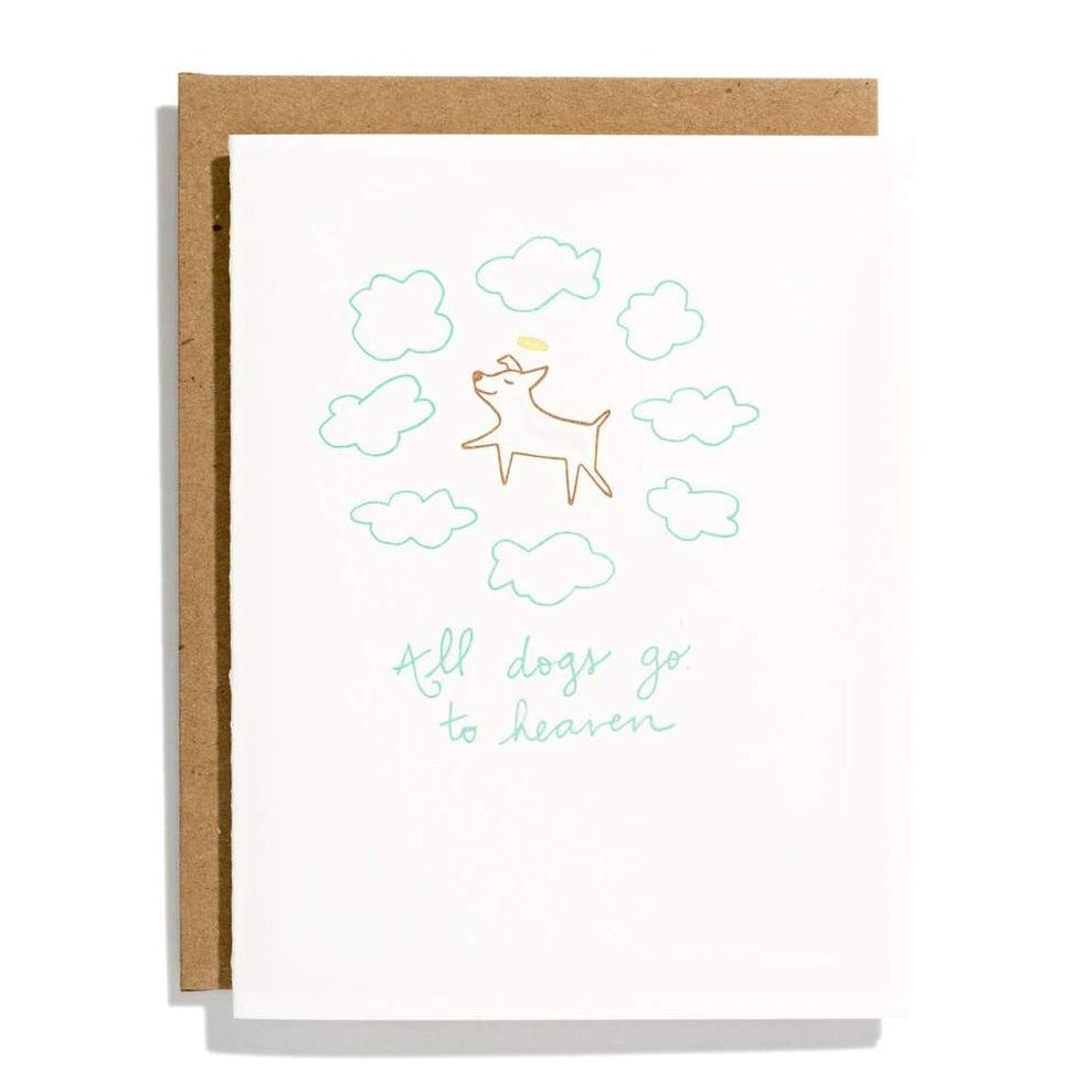 Dogs Go To Heaven Card