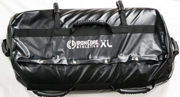 Sandbag Training Workout System - XL Outer Shell with 120lb capacity. Includes Two Universal Filler Bags