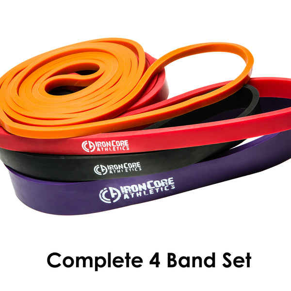 Set of 4 Pull Up Assistance bands