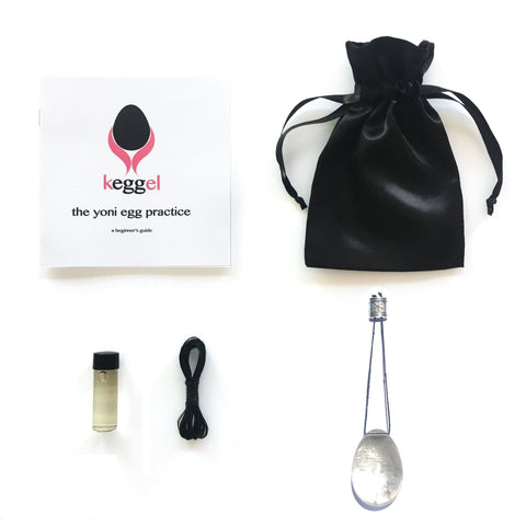 Master Healer Starter Kit: Clear Quartz Yoni Egg