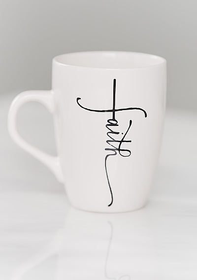 Faith Mug - Jewellery Unique Gifts & Accessories
