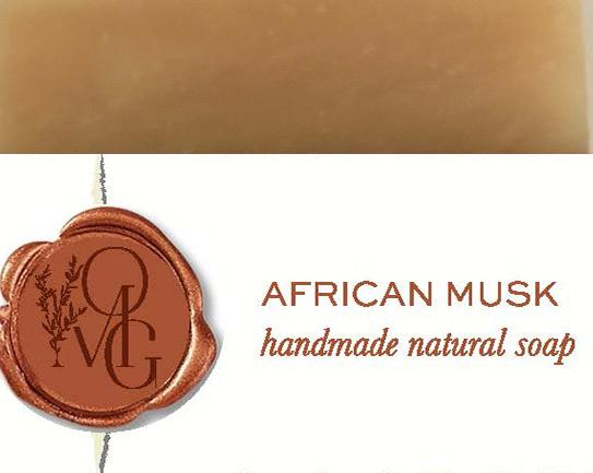 African Musk Handmade Natural Soap