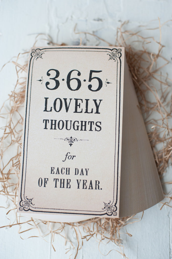 365 lovely thoughts...