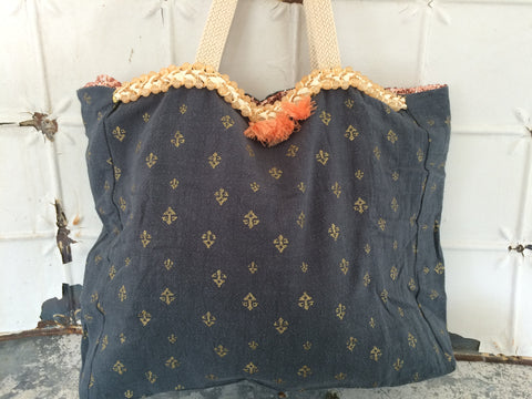 louise misha lagon tote bag...