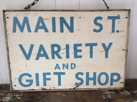 fabulous old sign...