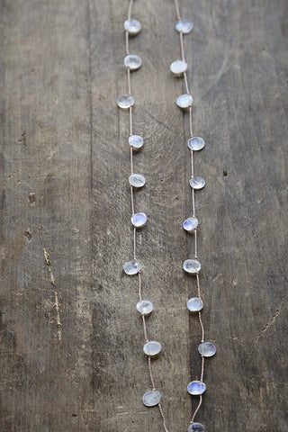 moonstone necklace...