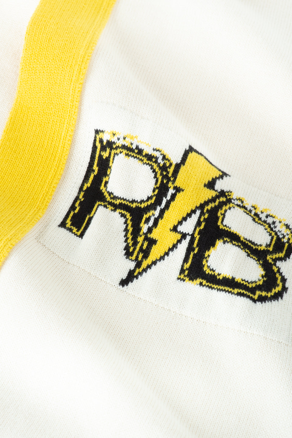 RB Varsity Cardigan (White)