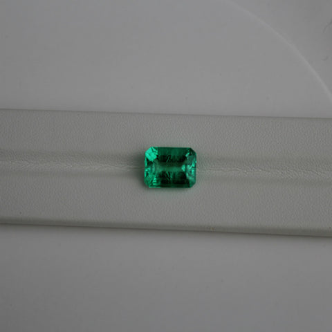 Emerald Gemstone - 5.86 cts. Emerald Cut - Amazon Imports, Inc. - Fine Quality Gemstones and Jewelry Since 1978