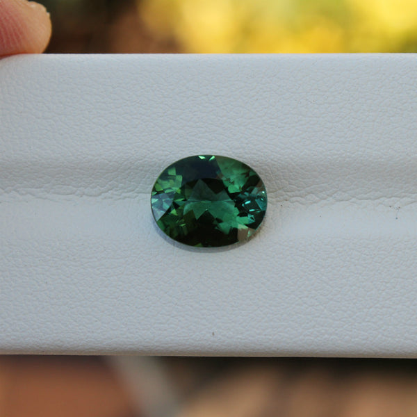 Green Tourmaline Gemstone - 3.15 cts. Oval - Amazon Imports, Inc. - Fine Quality Gemstones and Jewelry Since 1978