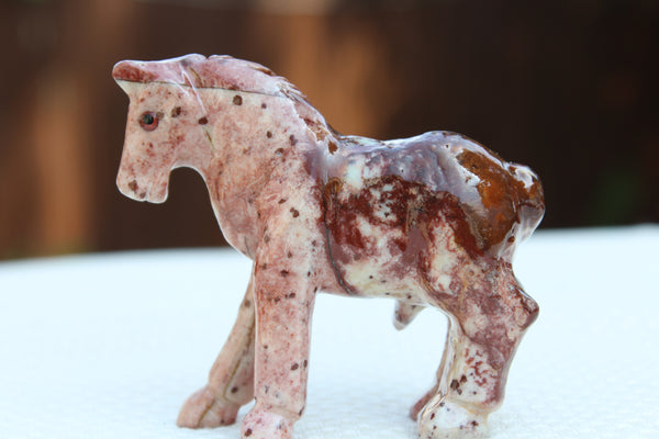 Horse Soapstone Animal Carving - Amazon Imports, Inc. - Fine Quality Gemstones and Jewelry Since 1978