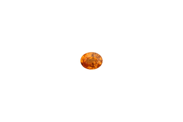 Spessartite Garnet (Mandarin Color) Gemstone  - 3.31 cts. Oval - Amazon Imports, Inc. - Fine Quality Gemstones and Jewelry Since 1978