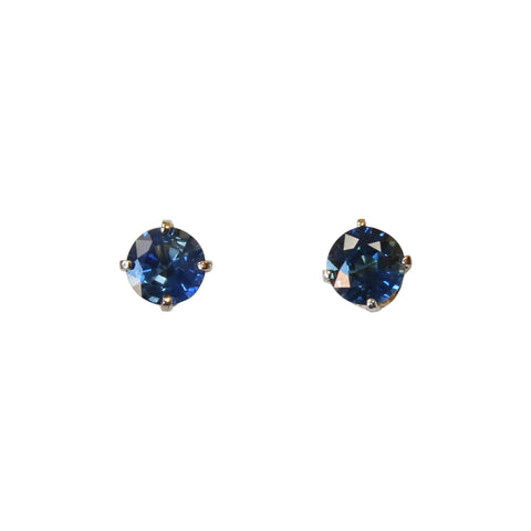 Blue Sapphire Gemstone Earrings in 14kt. Gold - Amazon Imports, Inc. - Fine Quality Gemstones and Jewelry Since 1978