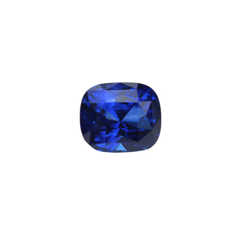Blue Sapphire Gemstone - 5.41 cts. Cushion Cut - Amazon Imports, Inc. - Fine Quality Gemstones and Jewelry Since 1978