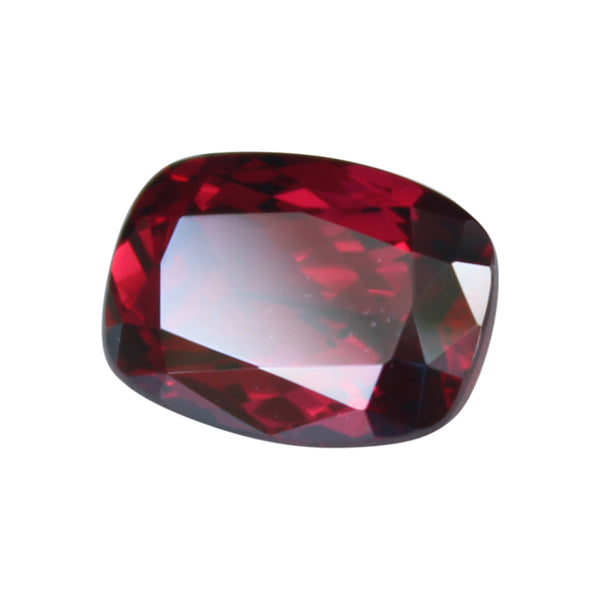 Rhodolite Garnet  Gemstone -  11.4 ct. Cushion Cut - Amazon Imports, Inc. - Fine Quality Gemstones and Jewelry Since 1978