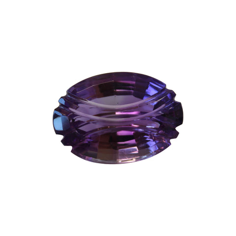 Amethyst Gemstone - 41.25  Fancy Cut oval - Amazon Imports, Inc. - Fine Quality Gemstones and Jewelry Since 1978