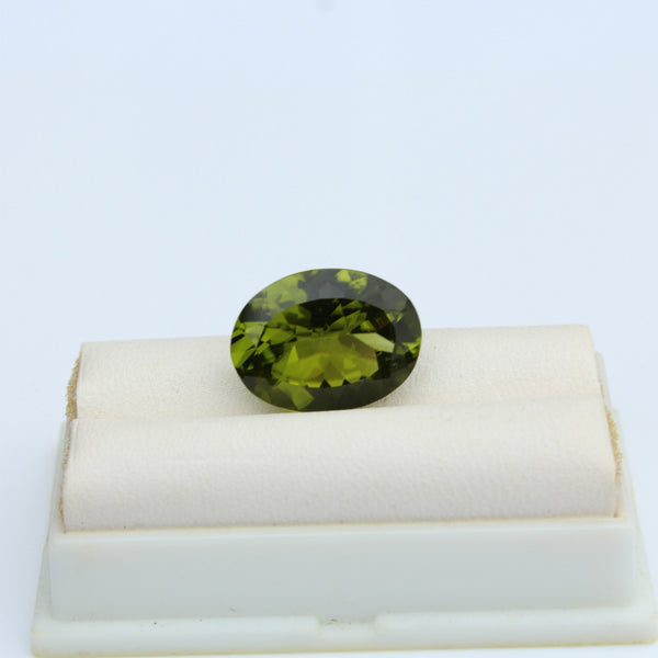Peridot Gemstone - 8.36 cts. Oval - Amazon Imports, Inc. - Fine Quality Gemstones and Jewelry Since 1978