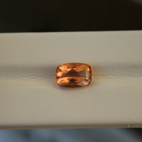 Imperial Topaz Gemstone - 3.95 cts. Cushion Cut - Amazon Imports, Inc. - Fine Quality Gemstones and Jewelry Since 1978