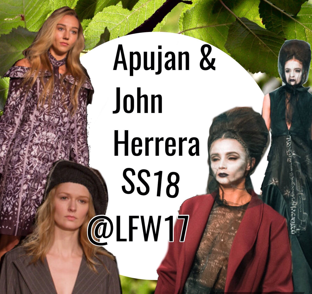 London Fashion Week 2017 - APUJAN & John Herrera