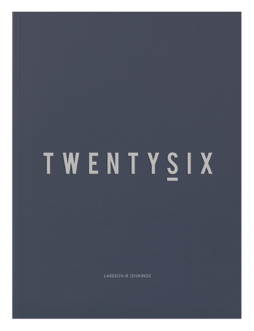 Introducing TwentySix Magazine by Larsson & Jennings