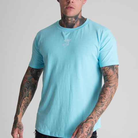Cherub Dream Logo Sky Blue Tee