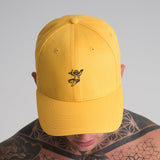 Dream Cherub Baseball Cap Yellow