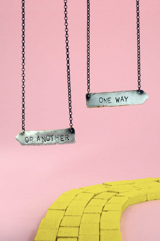 One Way Or Another-Arrow Necklace