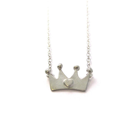 Queen of Hearts - Crown Necklace