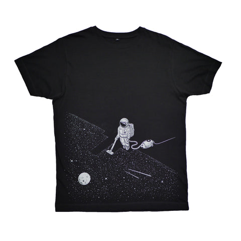 The Space Cleaner Black T-Shirt