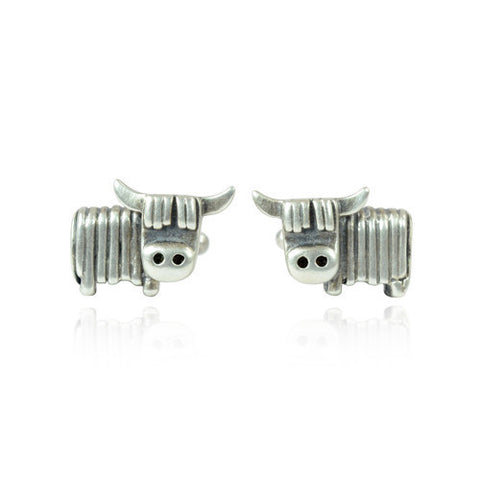Quirk- Highland Cow Cufflinks