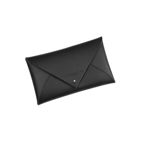 Small Leather Envelope Clutch