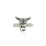 Quirk- Highland Cow Face Ring