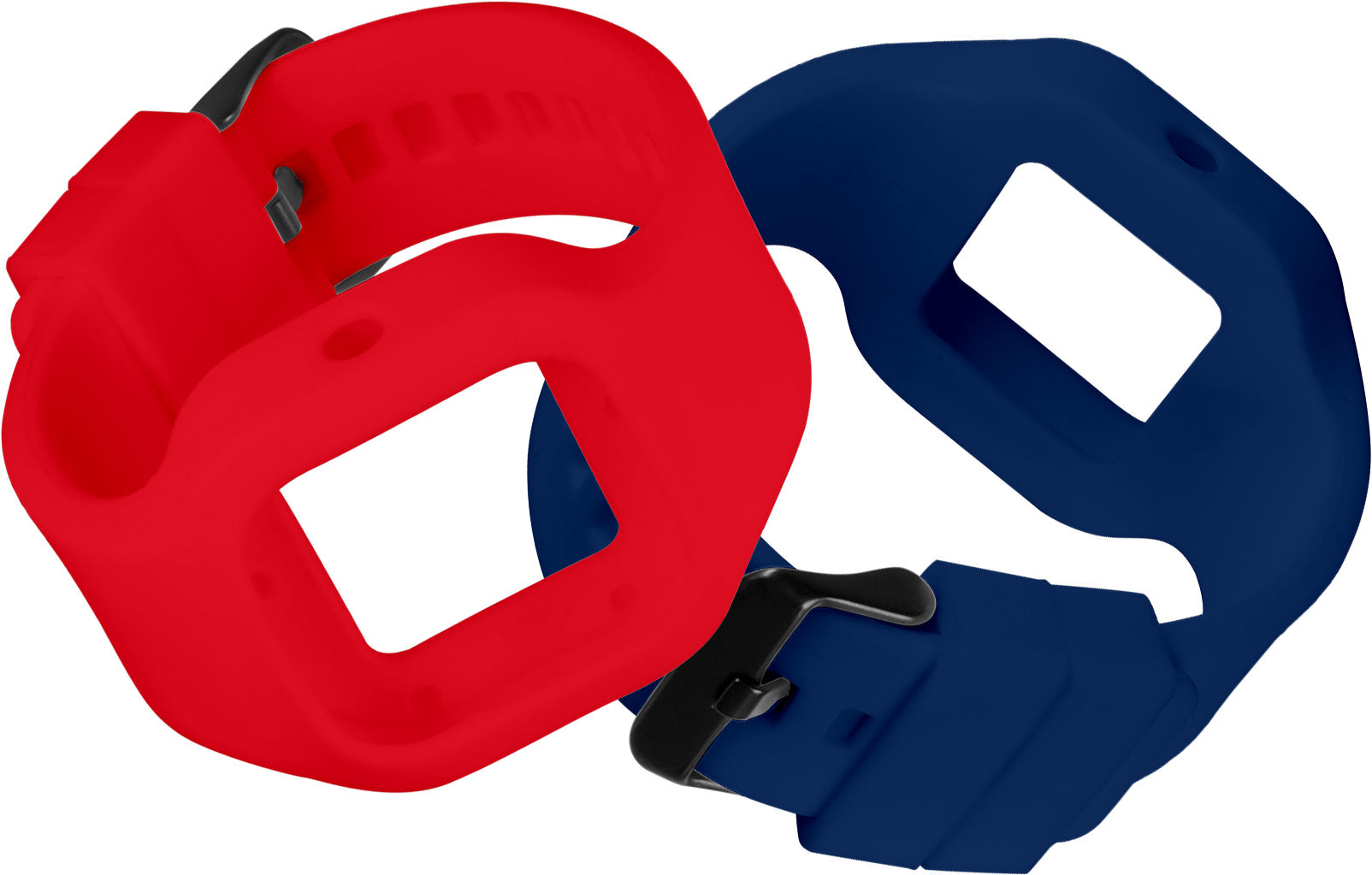 Red and Blue Straps