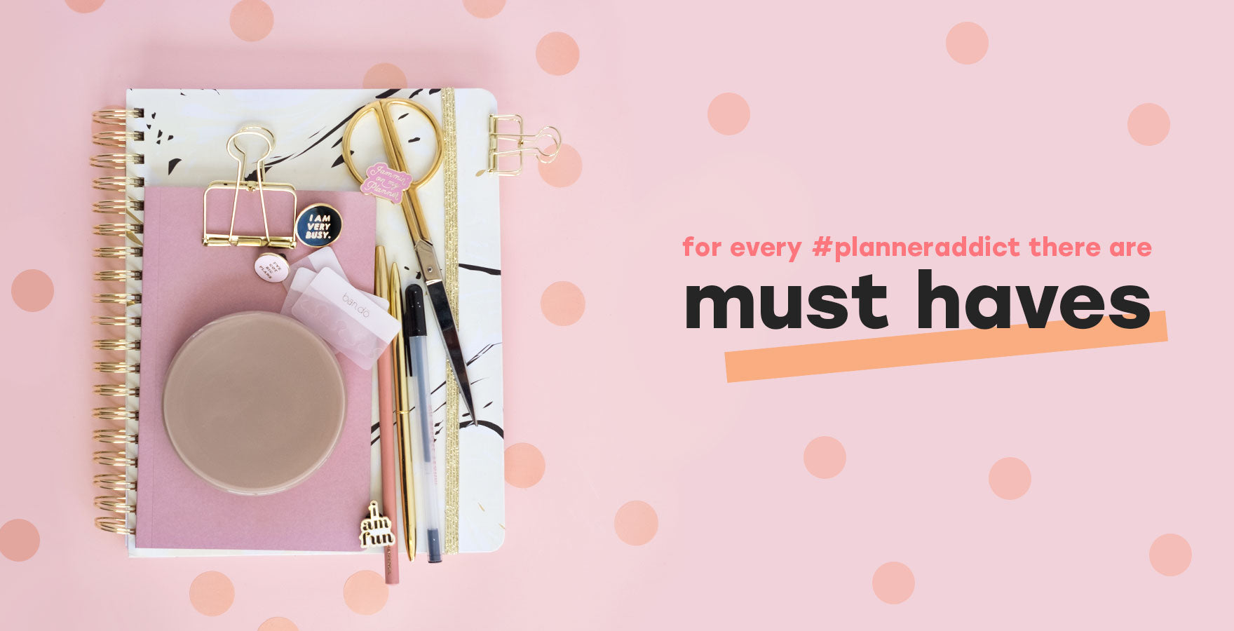 agenda and planner must-have accessories