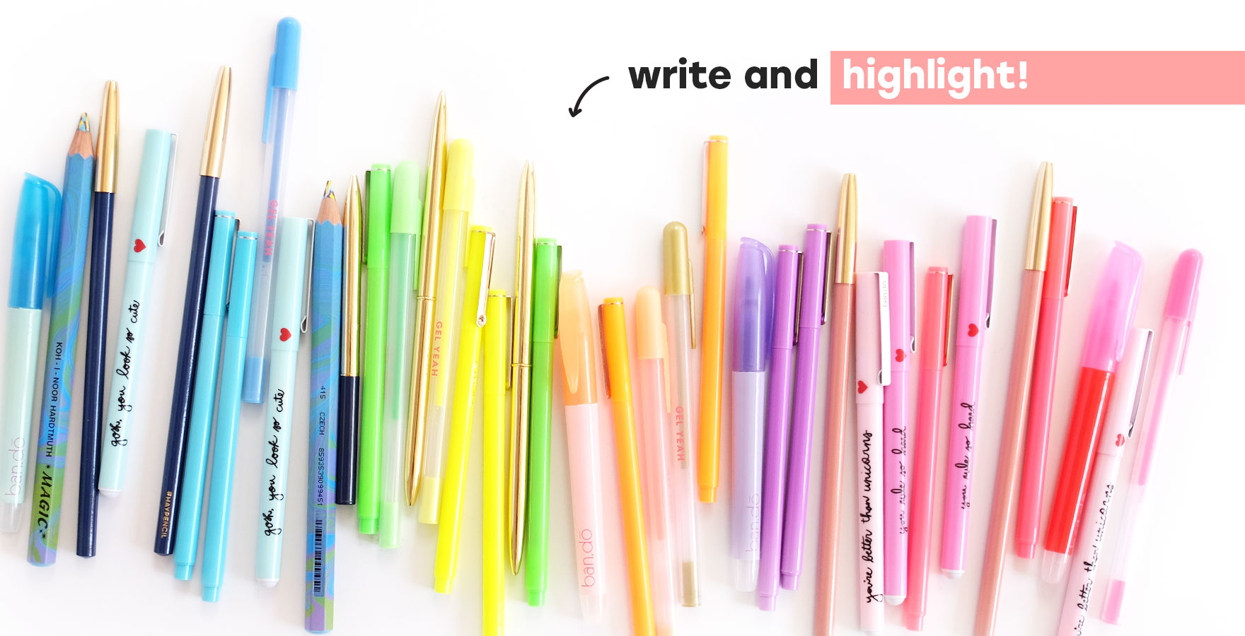 write and highlight