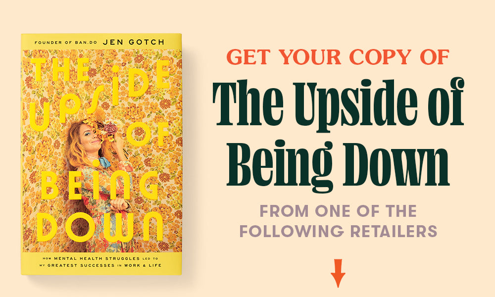 Get your copy of The Upside of Being Down