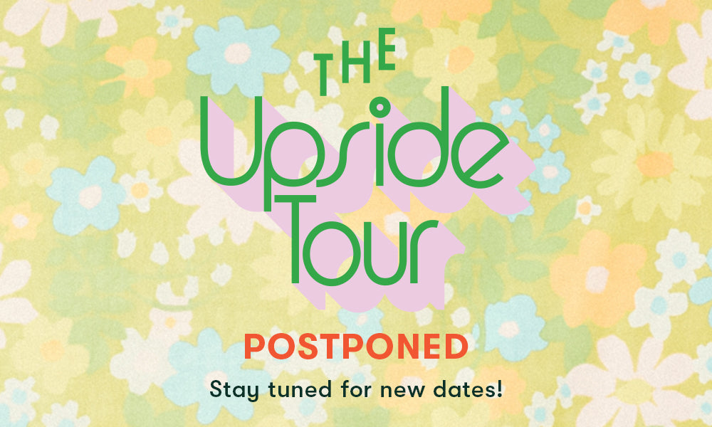 The Upside Tour - Coming to a city near you