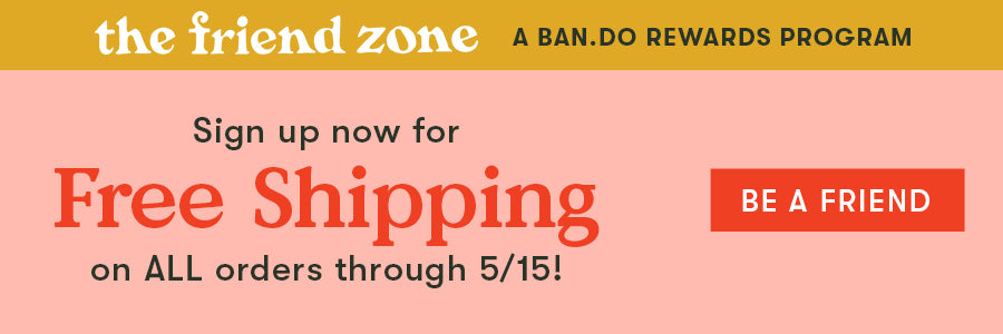 Thanks for your support! Get free shipping in the US now through 4/30.