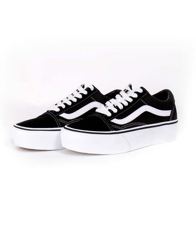 Old Skool Platform - Black