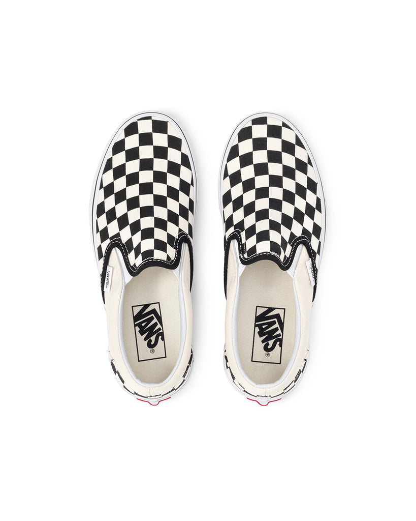 This Classic Slip-On from Vans comes in a black and white checkerboard pattern.