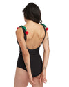 Cherry Strap One-Piece Swimsuit