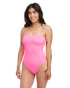 Molly Rib One Piece Swimsuit - Strawberry Punch