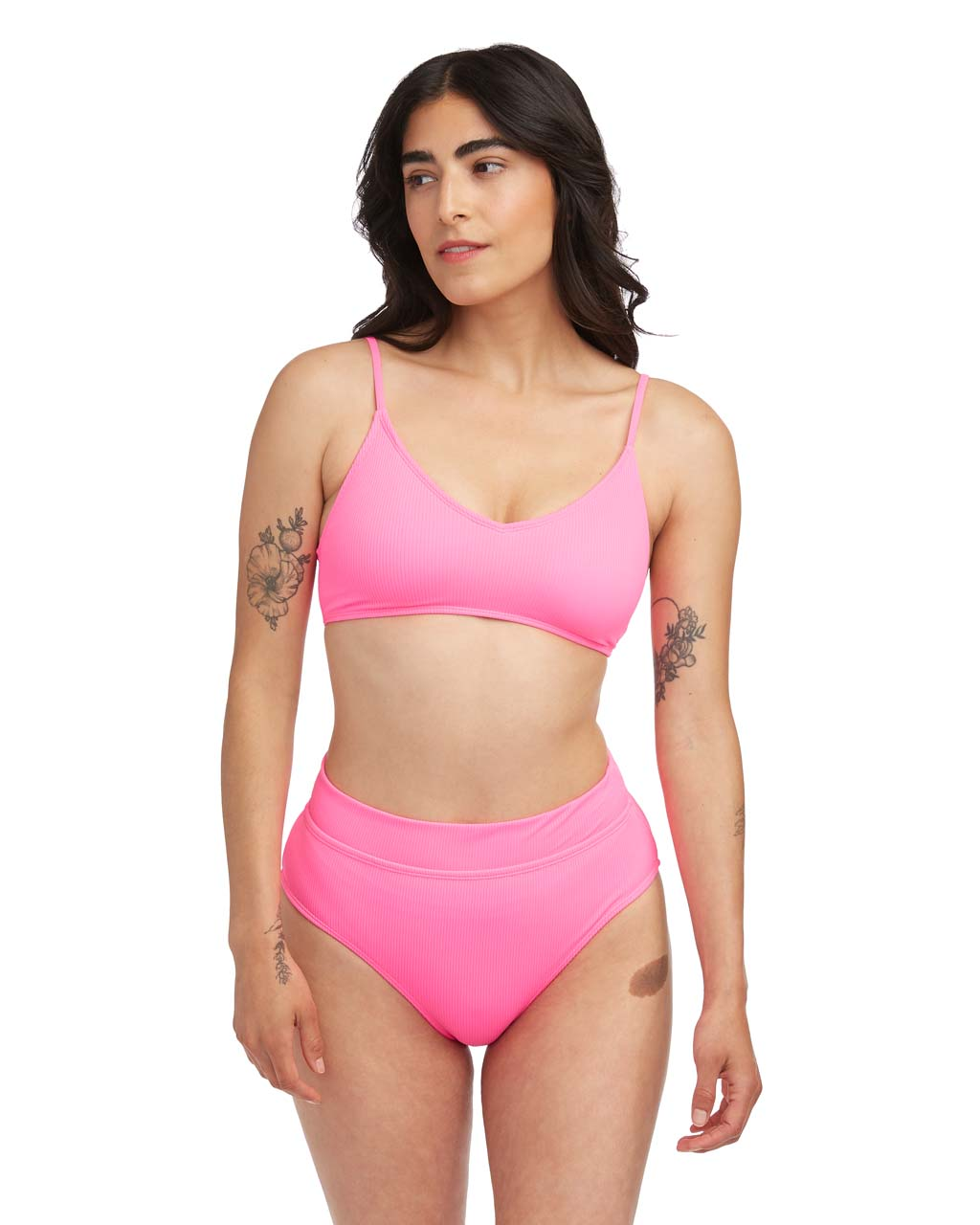 cfd53893b9 Lucie Rib Bikini Top - Strawberry by cotton on - swimsuit - ban.do