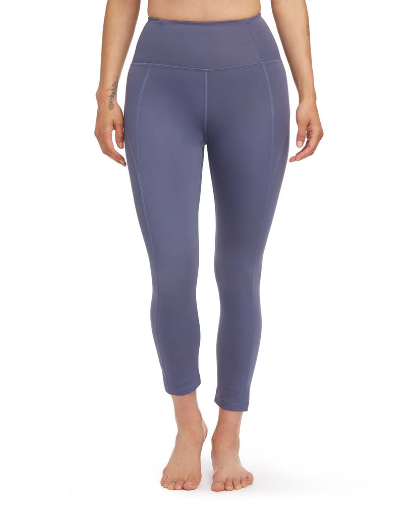 7/8 Compression Legging - Tanzanite